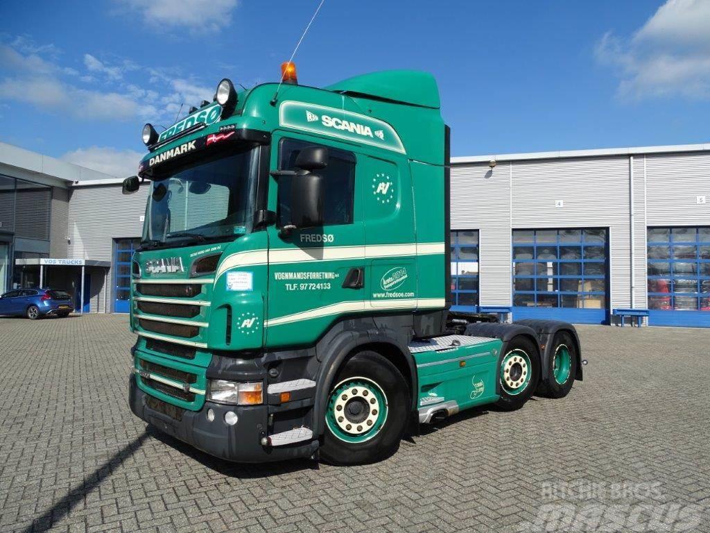 Scania R500 / HIGHLINE / AUTOMATIC / 6X2 / HYDRAULICS / 2