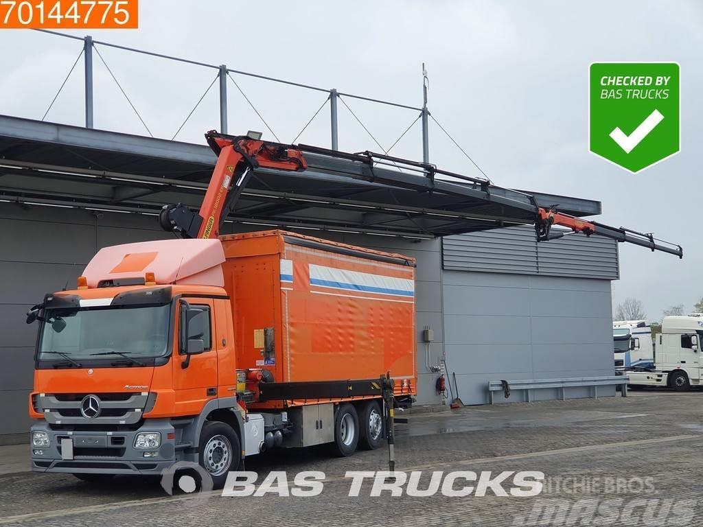 Mercedes-Benz Actros 2544 6X2 22 Meters Long! Crane Kran Palfing