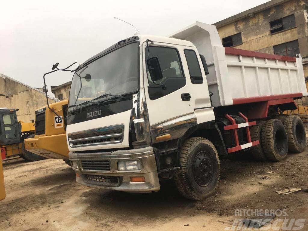 Isuzu 6*4 dump truck