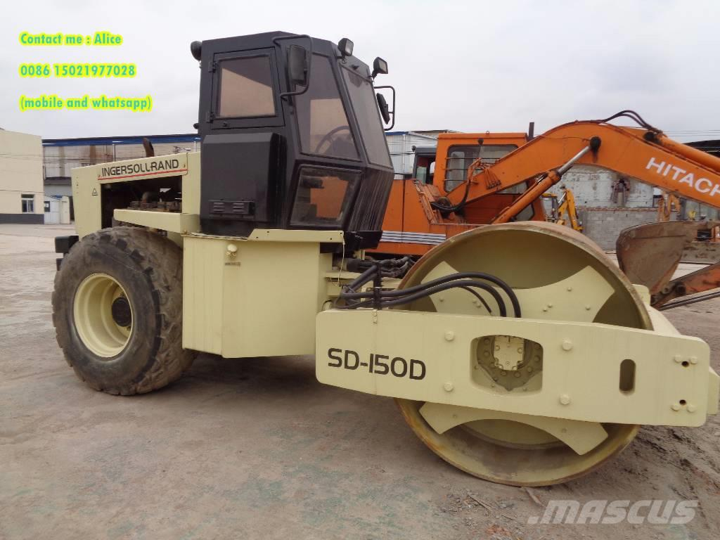 Ingersoll Rand SD150, 2011, Single drum rollers ...
