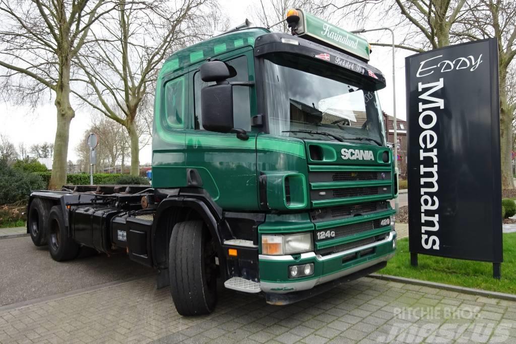 Scania P 124G 420 6x2