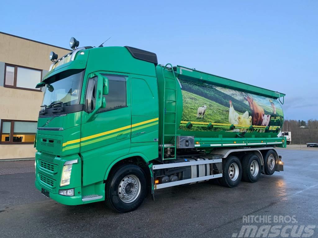 Volvo FH540 8x4+EURO6+COMPRESSOR