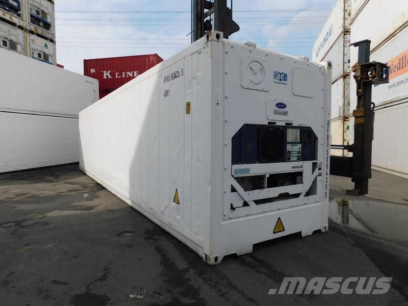 [Other] 40' HC Reefer Kühlcontainer Carrier Baujahr 2008