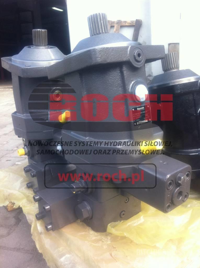 Rexroth Volvo Silnik Motor A6VM 140 HA1TB/63W