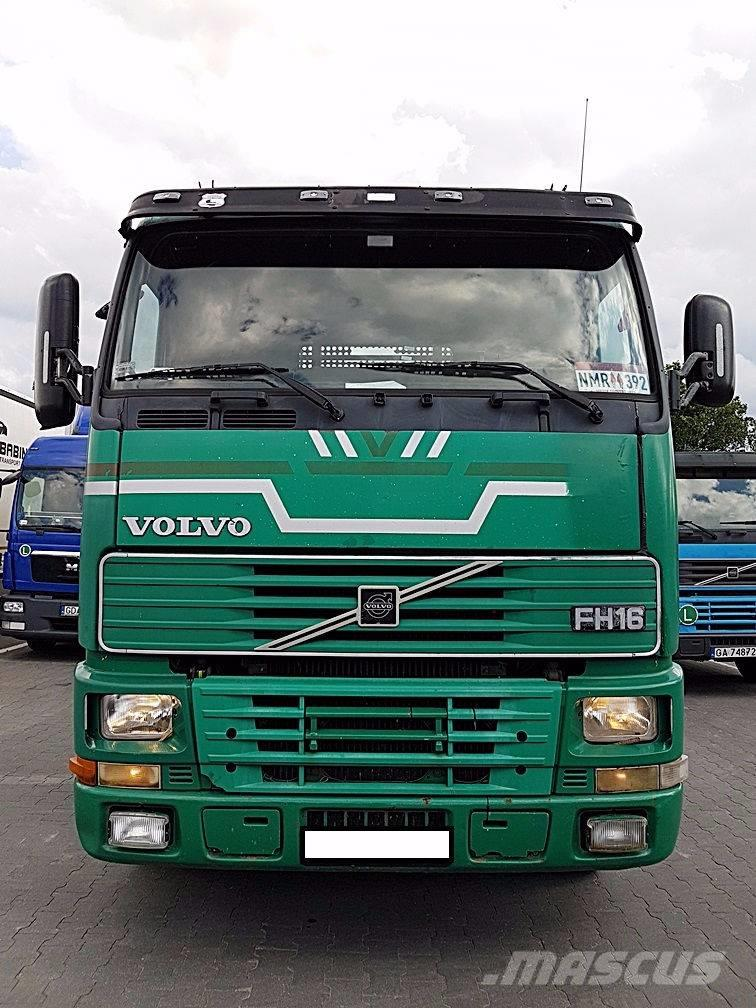 used volvo -fh16-520 cab  u0026 chassis trucks year  1997 price   9 432 for sale