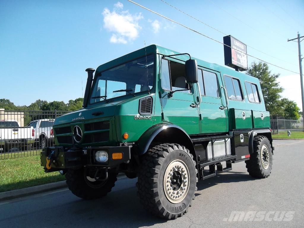 Mercedes benz unimog u1550 crew cab 4x4 for sale little for Mercedes benz unimog for sale usa