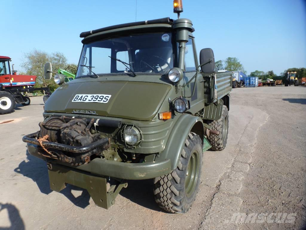 Mercedes Benz Unimog 406 Lincolnshire Tractors Price 163