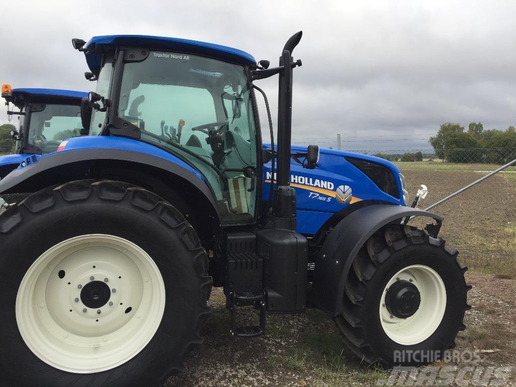 New Holland T7.165S TG Frontlyft ny! -17