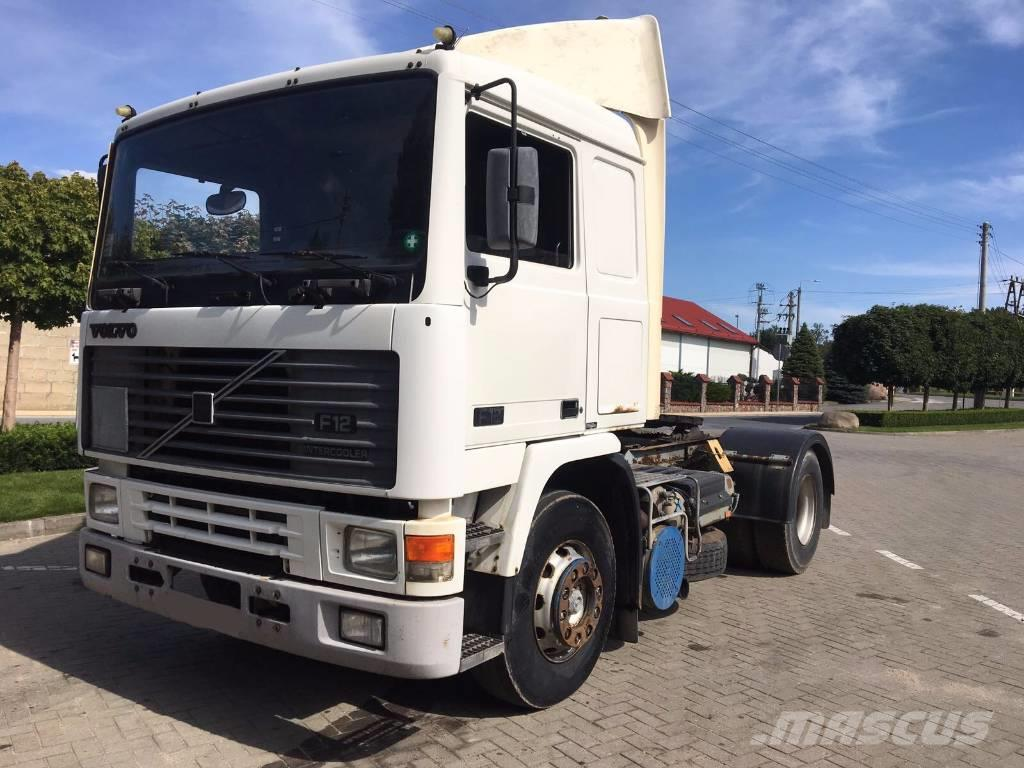 Volvo F12 400, one hand, perfect condition, klima