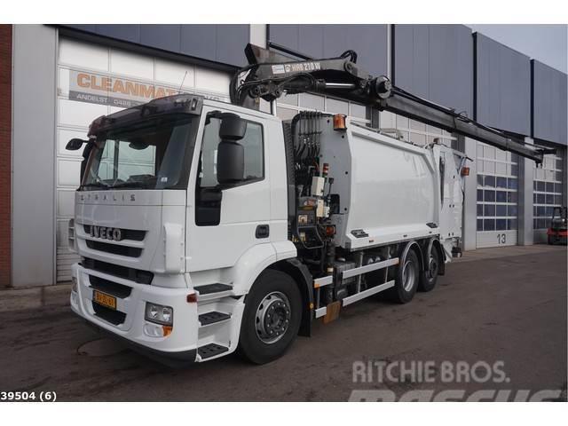 Iveco AD260S31 Hiab 21 ton/meter laadkraan