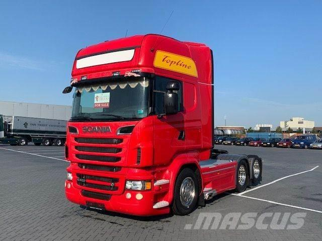 Scania R520,Retarder,full air,special interior