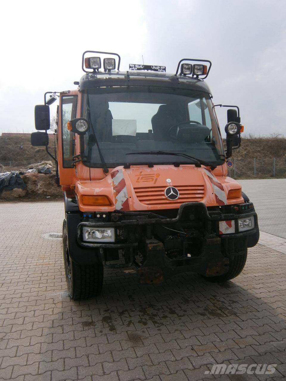 Used mercedes benz unimog u 500 utility tool carriers for Mercedes benz cleaning products