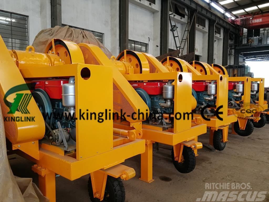 Kinglink PE-250x400 Mobile Diesel Stone Jaw Crusher