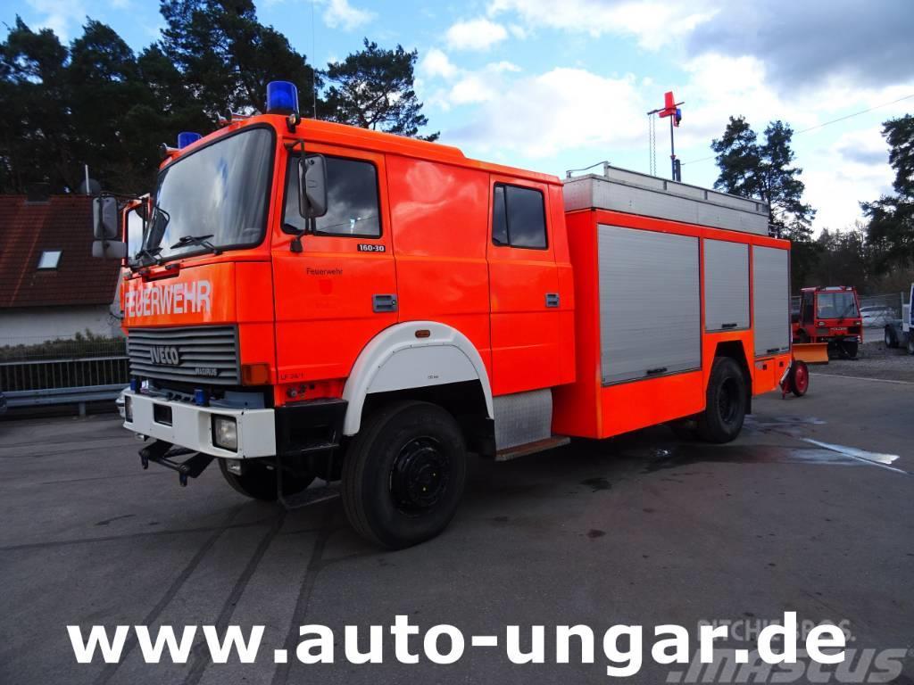 Iveco 160 30 Feuerwehr LF24 4x4 Bj. 94 Dachmonitor Schau