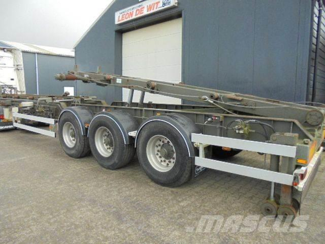 Van Hool 2x6.25 mtr containers for HTS 24 Ton Cabel system