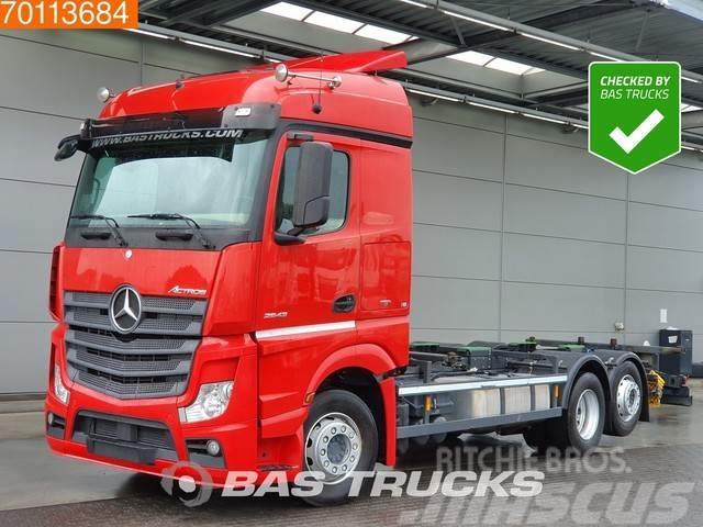 Mercedes-Benz Actros 2543 L 6X2 Retarder Liftachse Standklima Eu