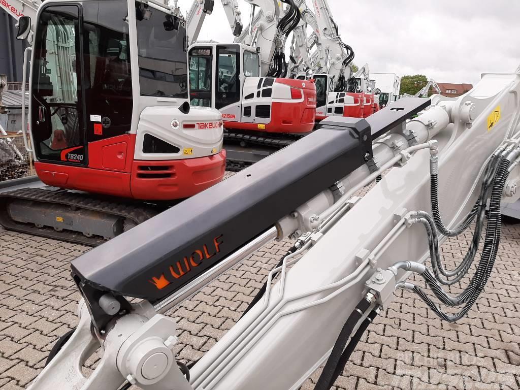 Wolf Technik für Baumaschinen Zylinderschutz, Cylinder