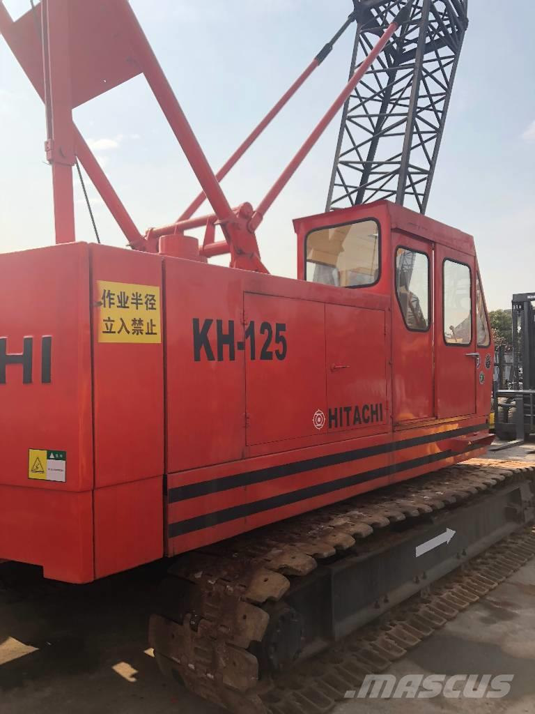 Hitachi KH-125  35t crawler crane