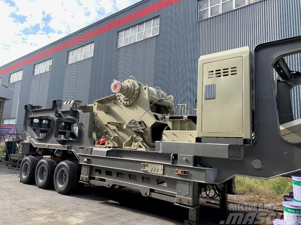 Kinglink Mobile Jaw Crusher Crushing Plant KL38096PE69