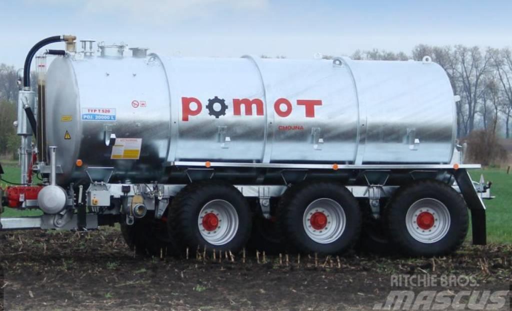 Pomot Slurry tank 20 000L TRIDEM, New !