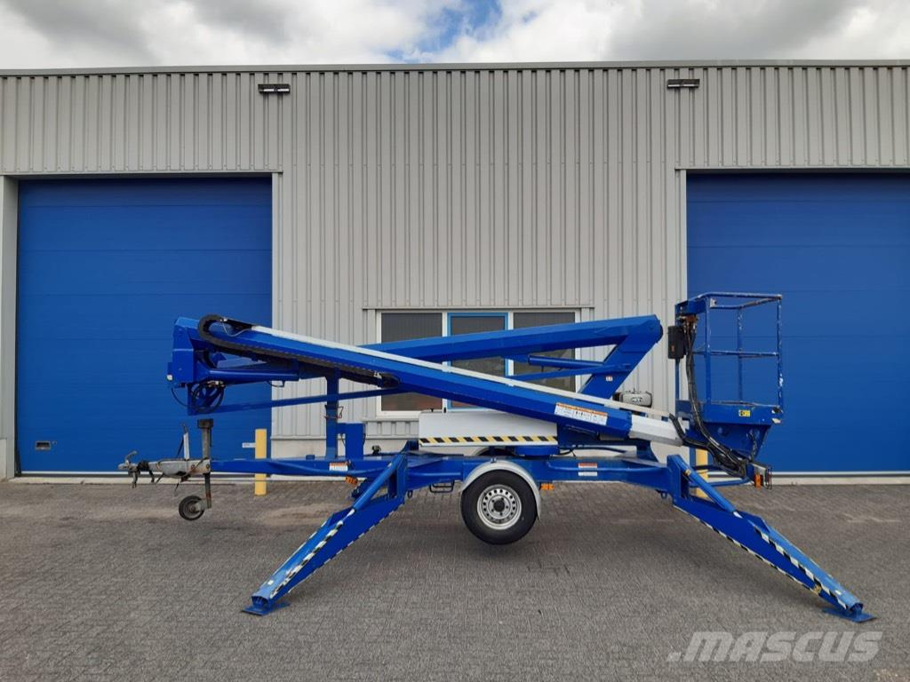 Niftylift 170, Aanhanger hoogwerker, 17 meter, diesel + Accu