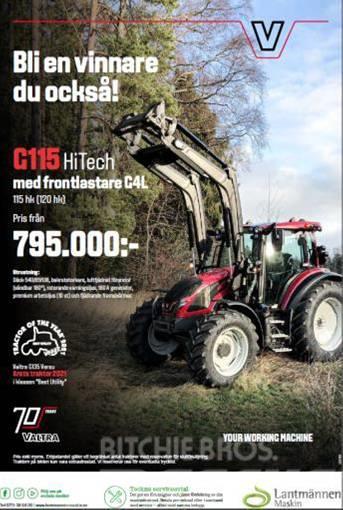Valtra G115 Hitech+Lastare Kampanj!!