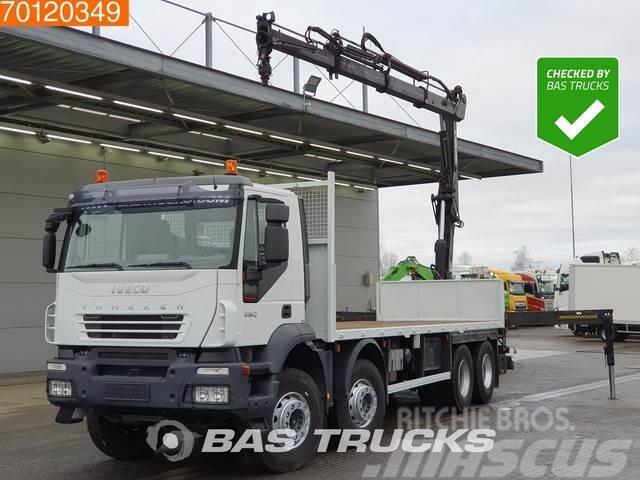 Iveco Trakker AD440T36 Trakker 360 8X4 Crane Big-Axle Hi
