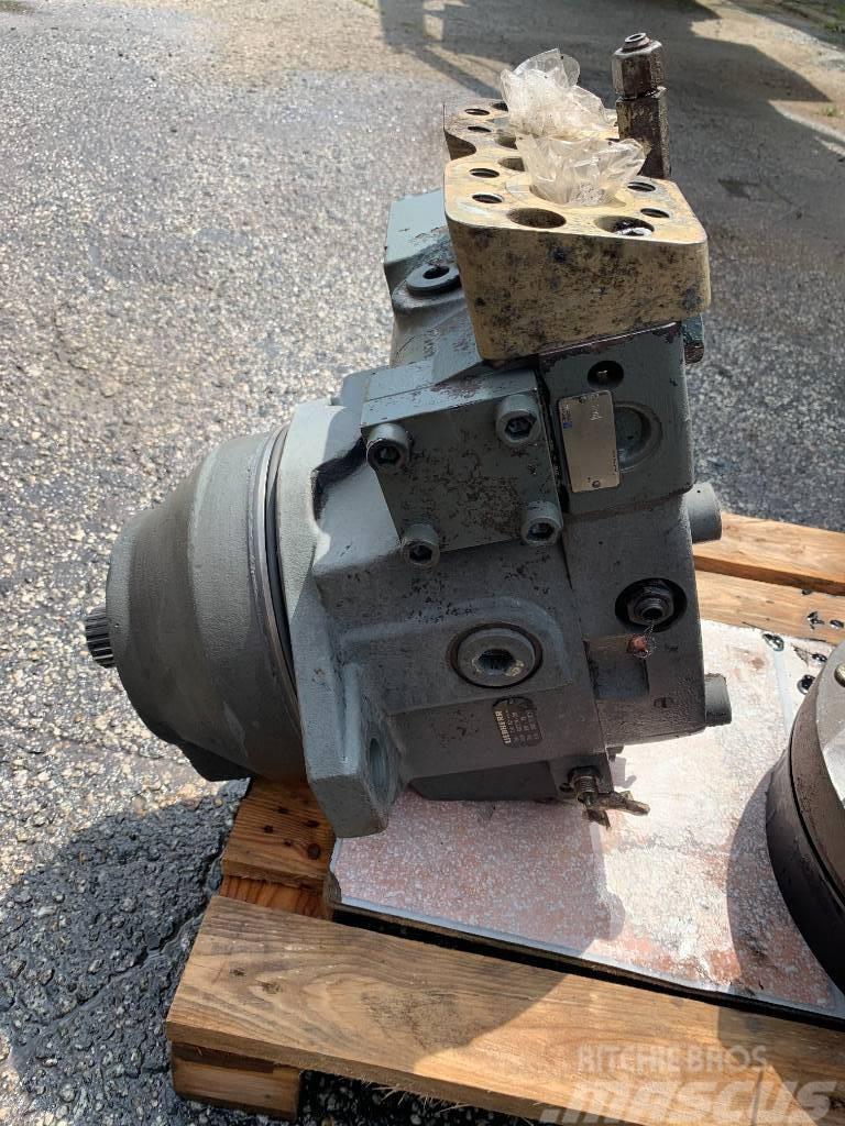 Liebherr Silnik hydrauliczny jazdy 964 fmv165