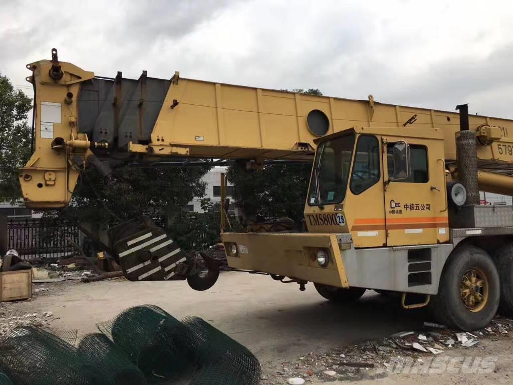 Used Grove TMS 800 B mobile and all terrain cranes Year