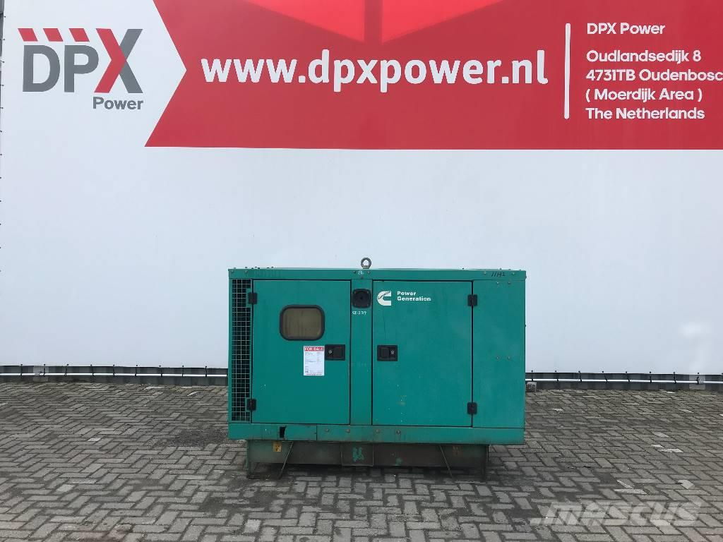Cummins C38D5 - 38 kVA Generator (incomplete) - DPX-11192