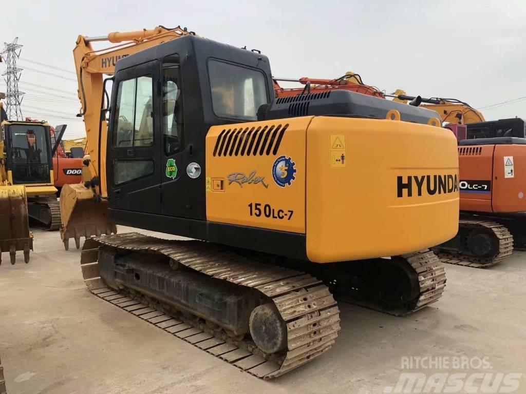 Hyundai R150LC-7中型挖掘机