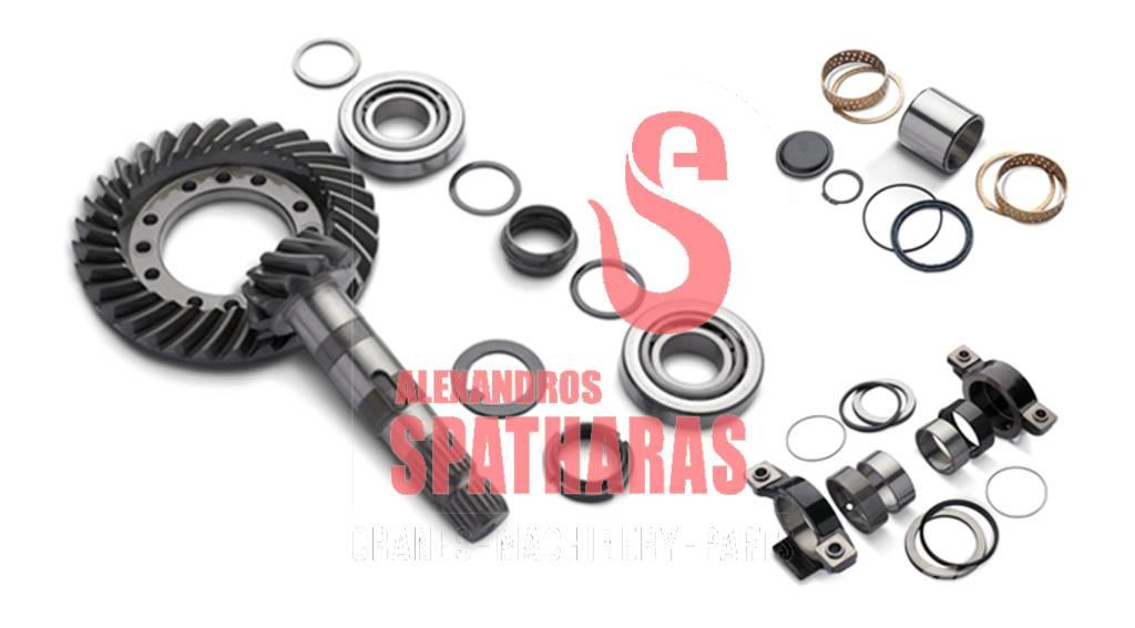 Carraro 64144	shaft + clutch bell kit