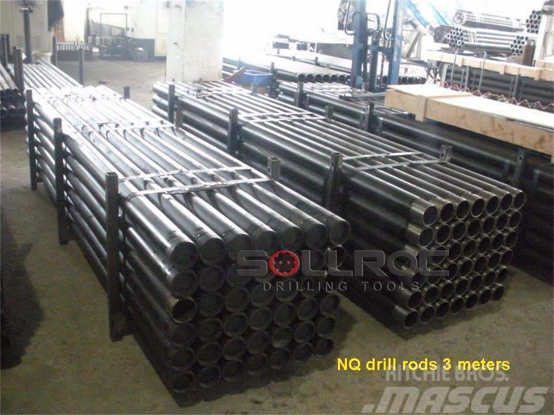Sollroc BQ NQ HQ PQ AW BW Drill Rod, Drill Pipe
