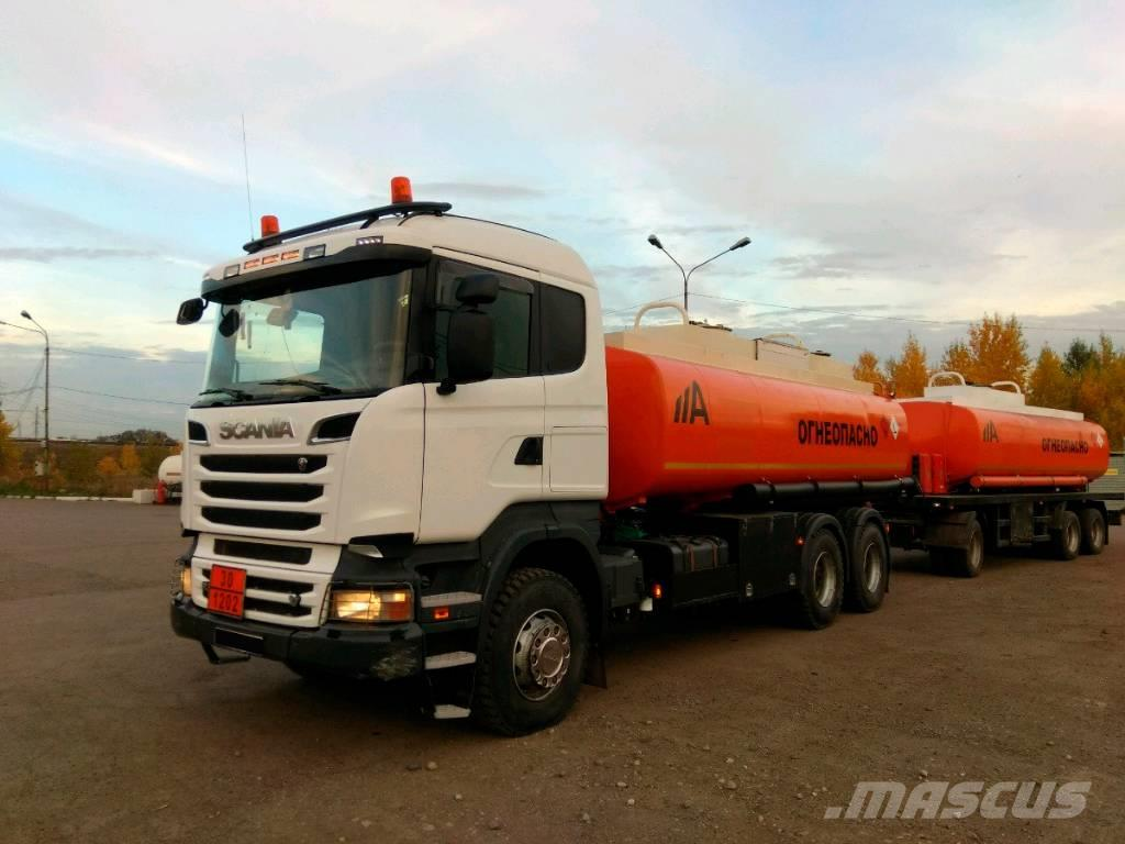 Scania R500+прицеп цистерна