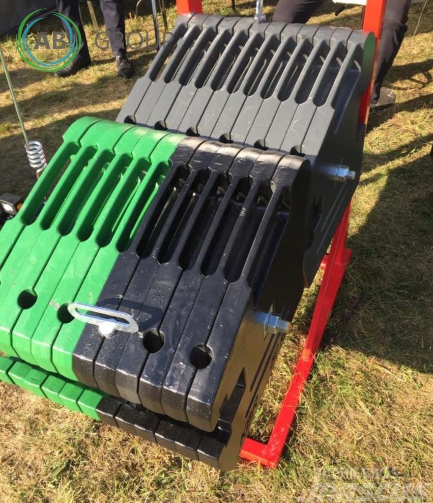 [Other] Kaber ht 1200 kg/ żeliwne obciążniki
