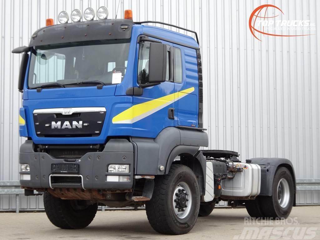 MAN TGS 18.440 BLS 4x4 - Allrad - manuel - Kipperhydra