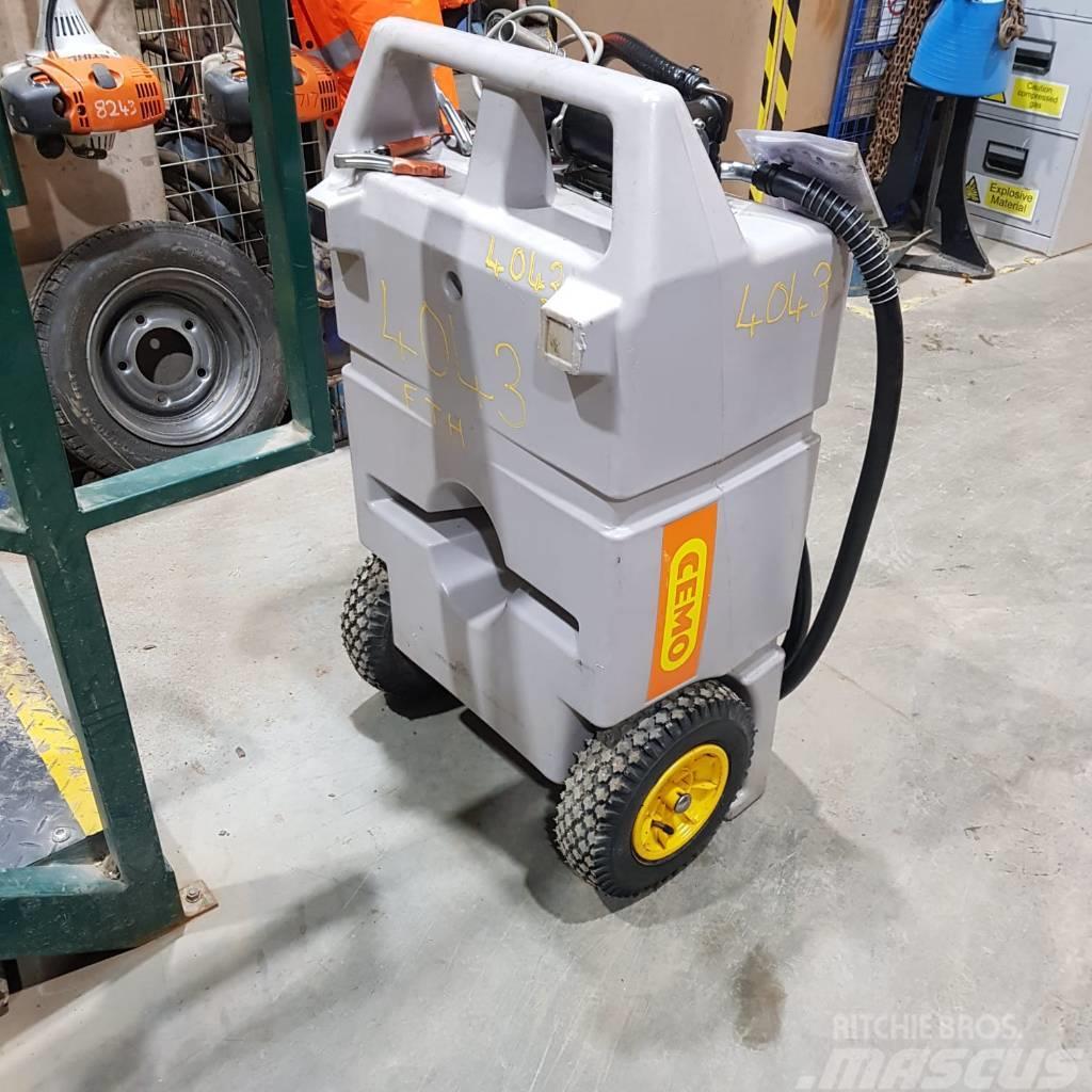 Cemo 100ltr Fuel Diesel Trolley