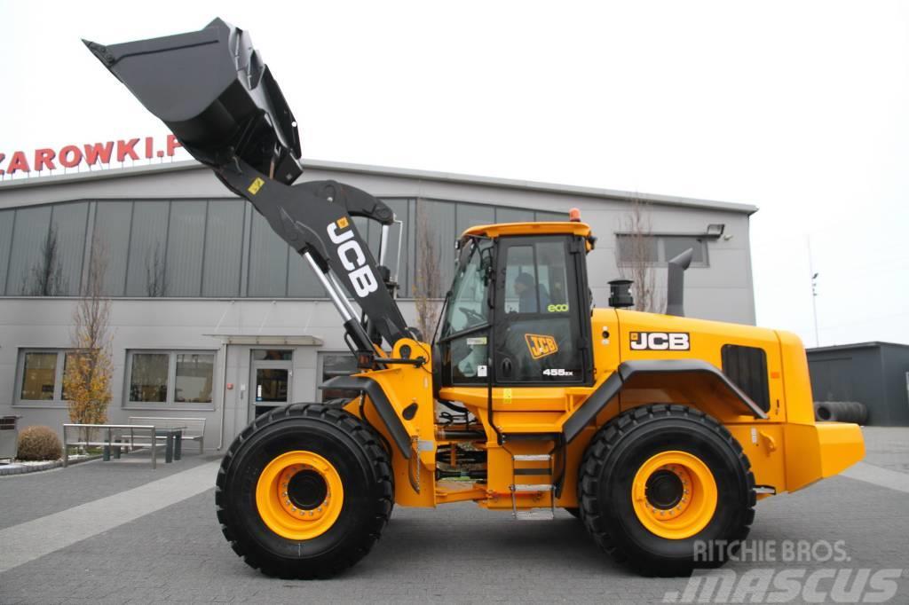JCB WHEEL LOADER 18 T 455ZX NEW 2018