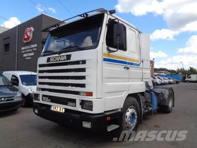 Scania 113 360 streamline hydraulic very clean tres propr