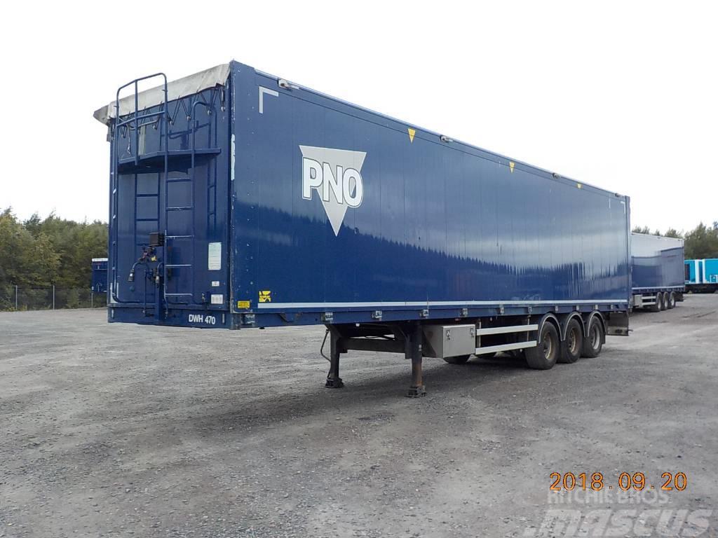 Kraker MOVING FLOOR CF503 - HYDRAULIC OPENSIDE - DWH 470