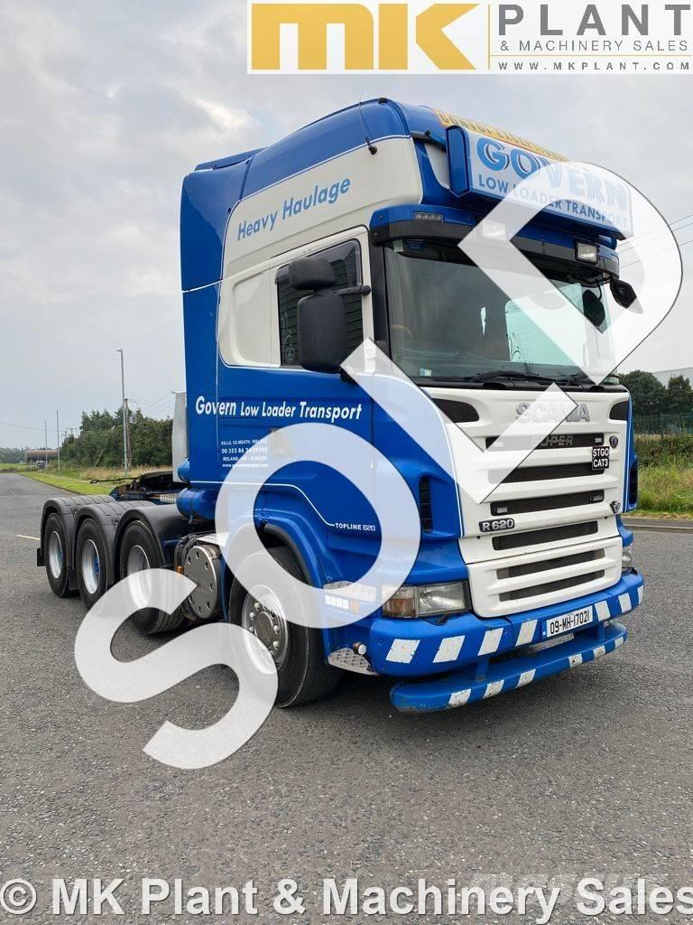 Scania R 620 8x4 RHD 150T Heavy Haulage