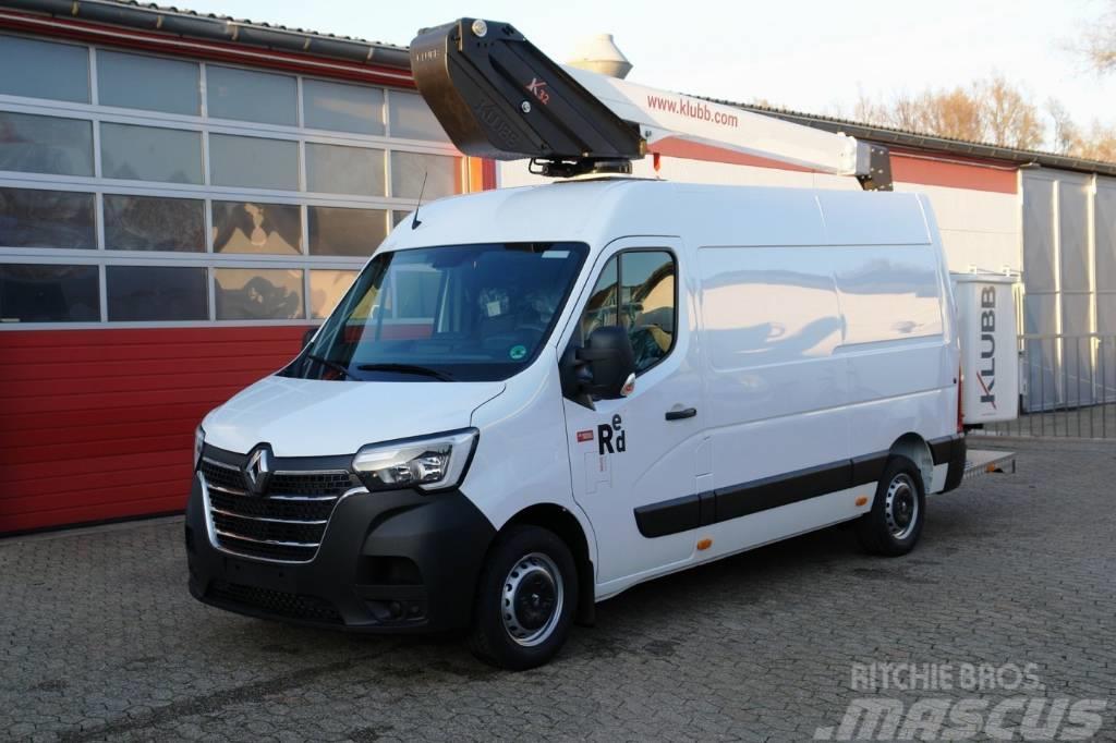 Renault Master 145dCi Furgon Hubarbeitsbühne KLUBB K32 13m