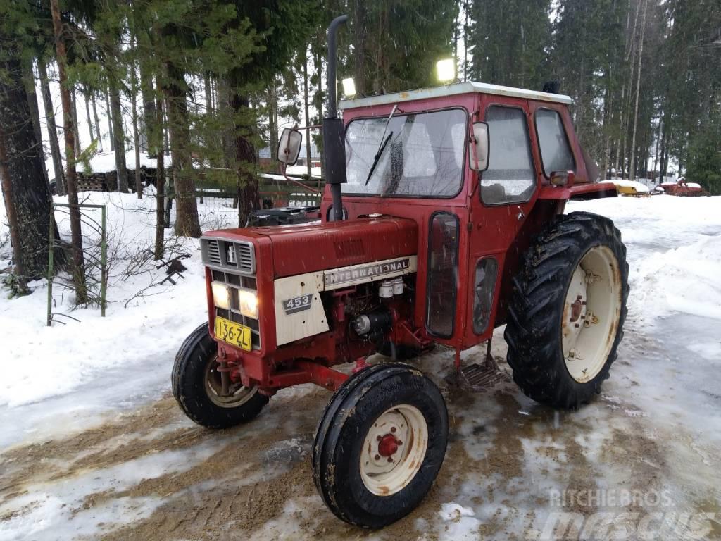 International 453 - Traktori - VIDEO - LÄMMIN HYTTI