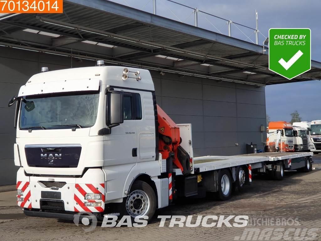 MAN TGS 26.440 6X2 Steering-Axle Kran Crane Palfinger