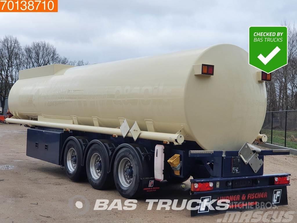 Lindner & Fischer TSA 36 3 axles 34.350 Ltr. Fuel Benzin P