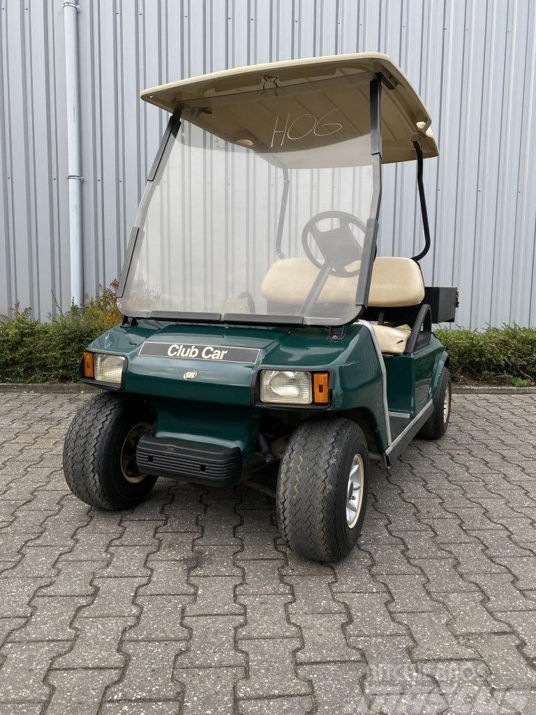 Club Car clubcar 2 persoons, electrisch + laadbak