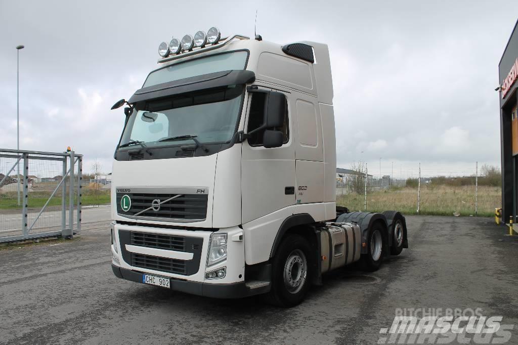 Volvo FH 6*2 460 EEV Hydraulik med Ny Bes