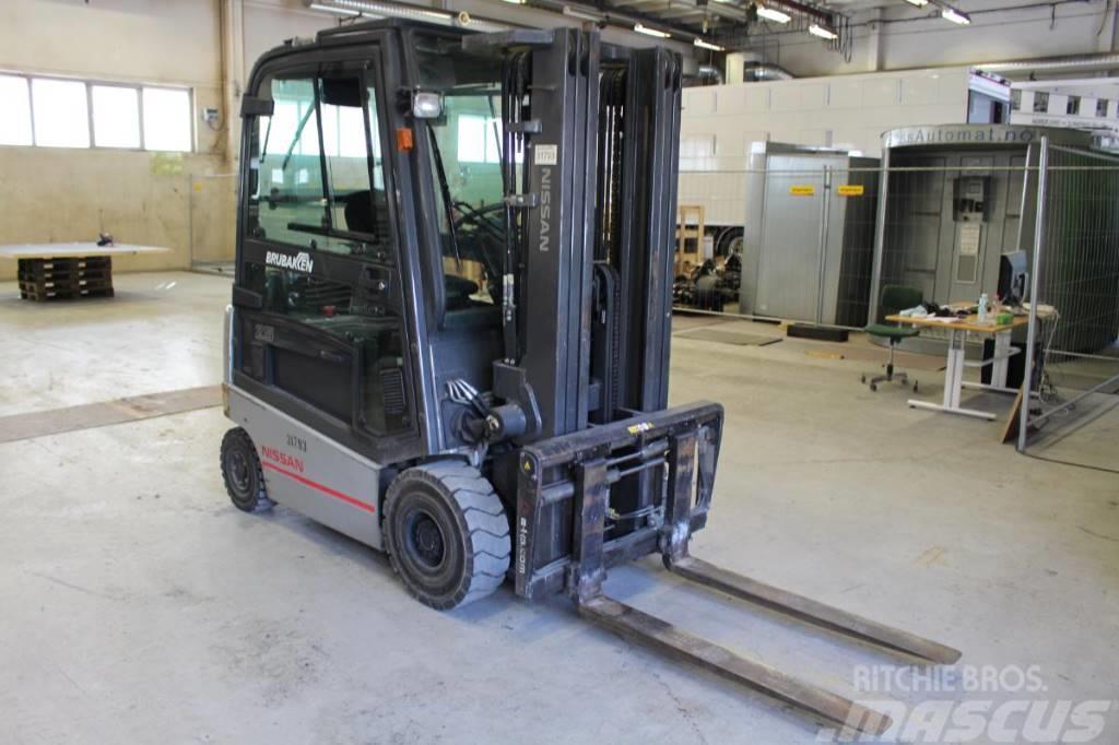 Nissan 1Q2L25Q - 2,5 t el. truck (SOLGT)