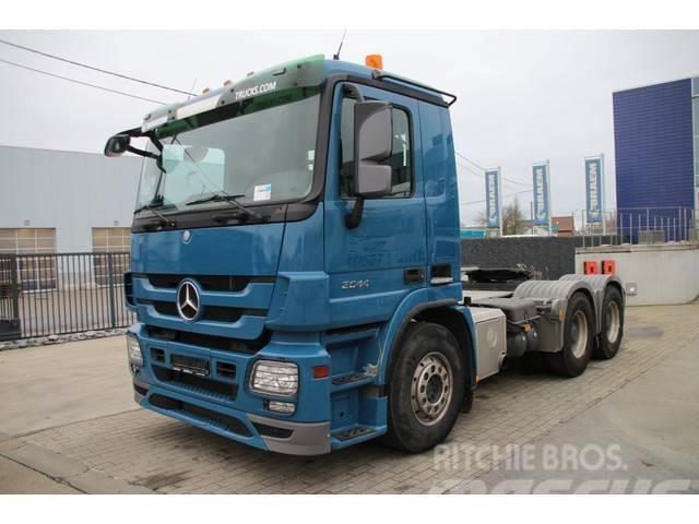 Mercedes-Benz ACTROS 2644 LS+EURO 5+Big Axles+Kiphydr.