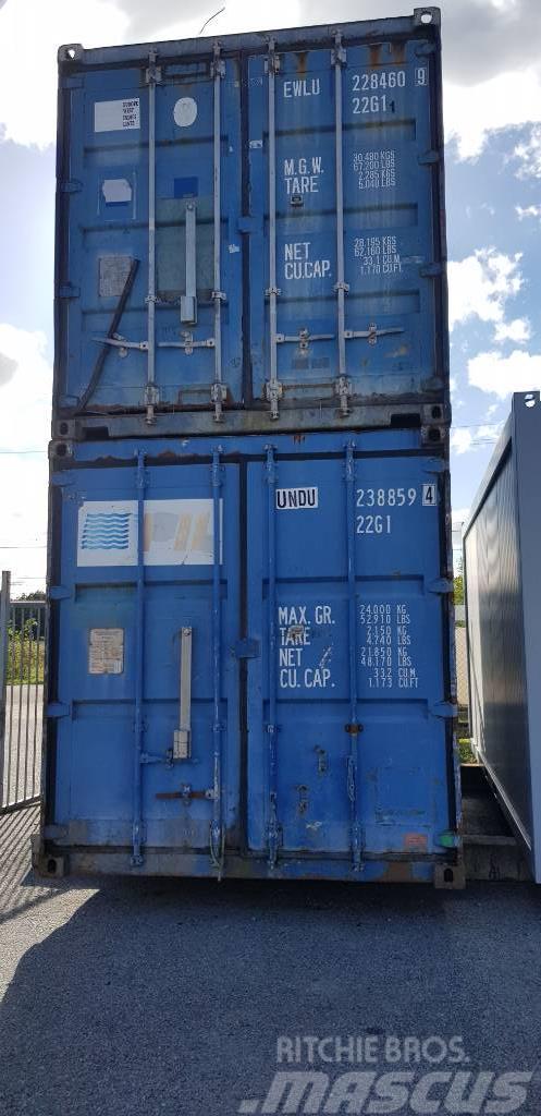 [Other] Sjöcontainer 20 Fot Begagnad